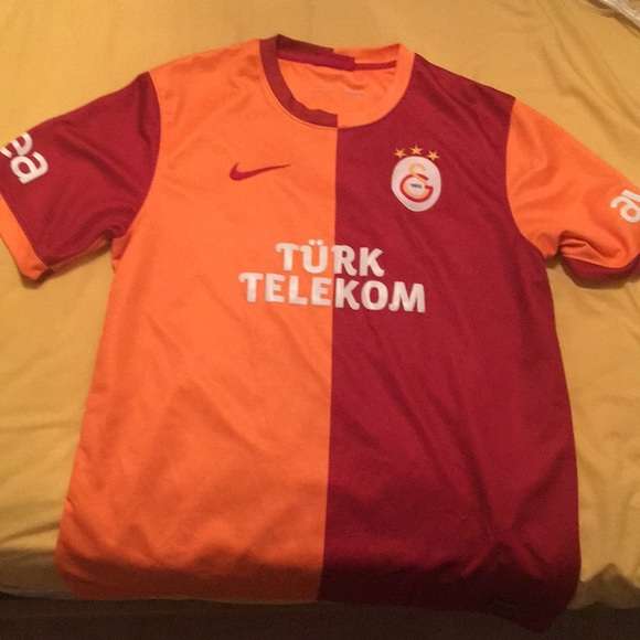 wholesale dealer 4390a 30955 2015-2016 Galatasaray home kit